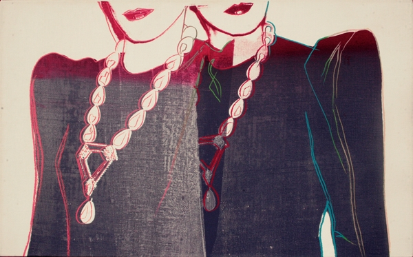 Fashion – Two female Torsos with Necklaces